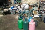 Rifiuti pericolosi e lavoratori in nero, sequestrata una ditta di rottamazione a Catania