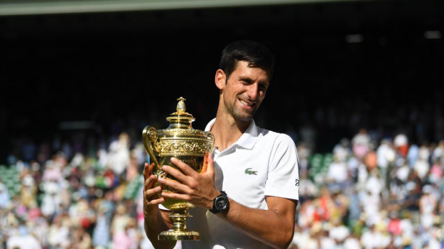 wimbledon, Novak Djokovic, Roger Federer, Sicilia, Sport