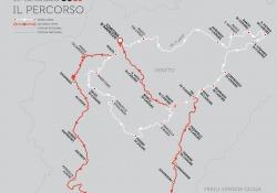 Il percorso della Coppa d'oro delle Dolomiti 2018