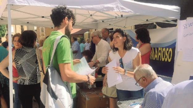 emergenza rifiuti castelvetrano, Salvatore Caccamo, Trapani, Archivio