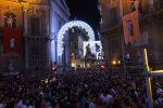 A Palermo un Festino da record con 400mila persone al Cassaro