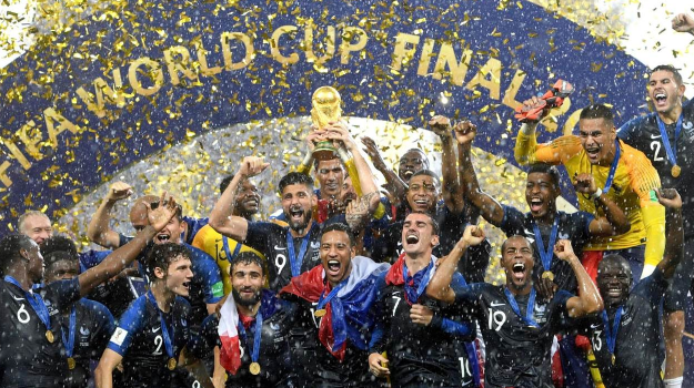 Estasi Francia, è campione del mondo: battuta in finale la Croazia per 4-2