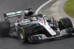Gp Ungheria, pole di Hamilton sul bagnato: solo quarto Vettel