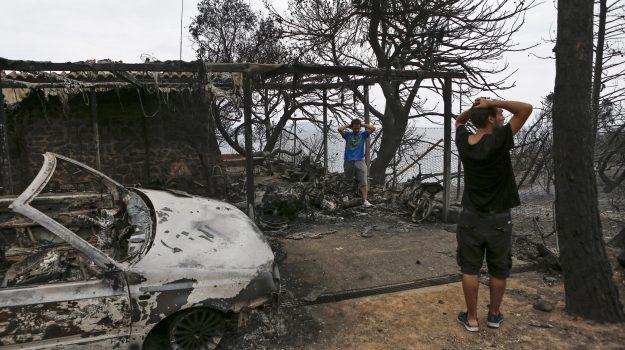 aiuti incendi grecia, comunità ellenica siciliana, incendi grecia, Sicilia, Società