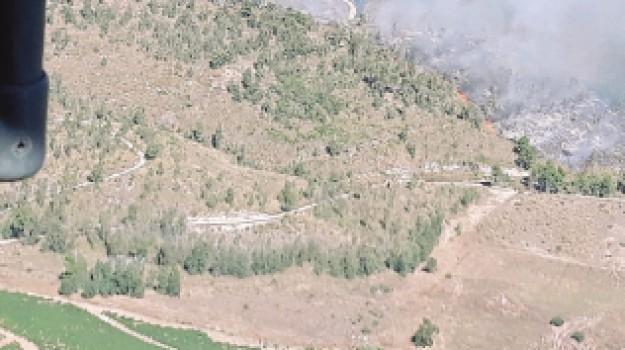 Incendio castellammare, Trapani, Cronaca
