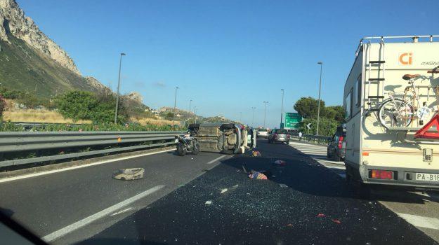 incidente villagrazia di carini, Palermo, Cronaca