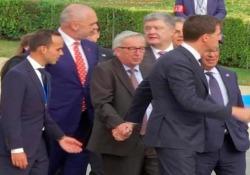 Il video del presidente della Commissione Europea girato a Bruxelles sta circolando molto in rete