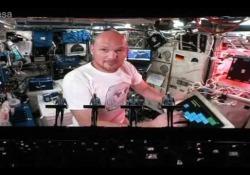 Kraftwerk, al concerto l'astronauta suona in diretta dallo spazio
