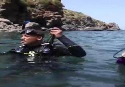 La star americana ha condiviso sui social il video dell'immersion con la sua famiglia