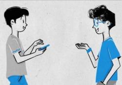 Il 97% dei 15-17enni va online tutti i giorni dal telefono, il primo smartphone arriva a 11 anni. Ma serve consapevolezza