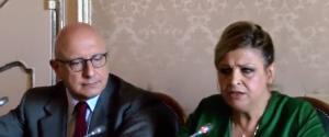 Eleonora Lo Curto e Gaetano Armao