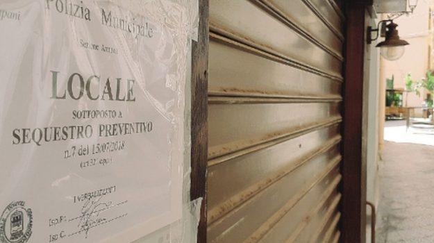 Musica troppo alta: sequestrati due locali del centro storico di Trapani