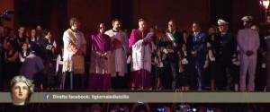 """Il Festino a Palermo: il video della processione delle reliquie. Lorefice: """"Siamo chiamati a un cambiamento"""""""