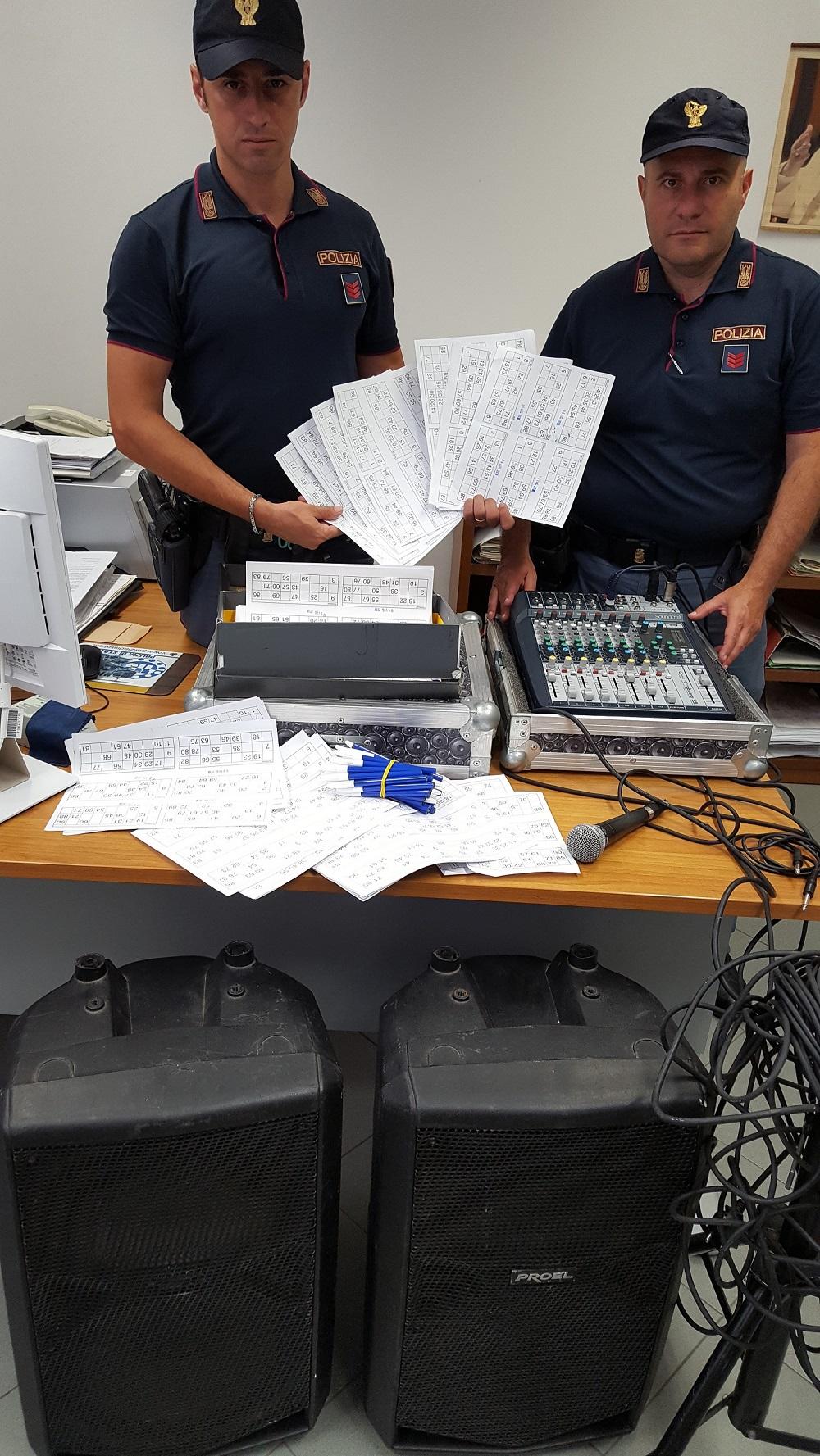 Scoperta lotteria illegale a palermo estrazione in piazza con filodiffusione si giocava - Filodiffusione casa ...
