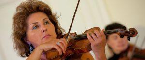La violinista Maria Safariants