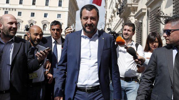 salvini a catania, salvini a messina, salvini in sicilia, Matteo Salvini, Sicilia, Politica