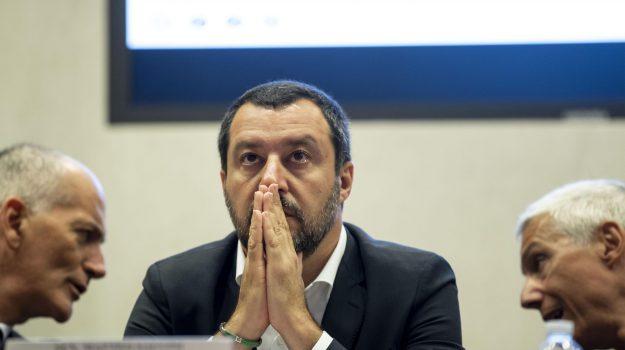 salvini a catania, Matteo Salvini, Sicilia, Politica