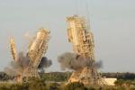 Nasa, demolite due torri di lancio a Cape Canaveral