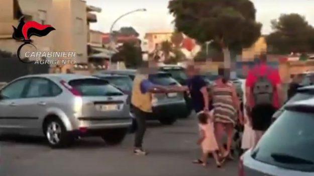 parcheggiatore abusivo san leone, Agrigento, Cronaca