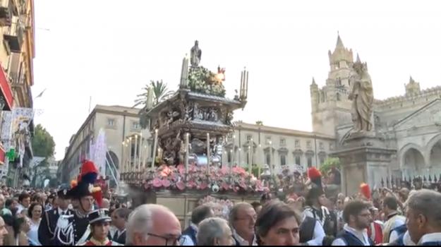 diretta festino, festino 2019, festino santa rosalia, santuzza, Palermo, Cultura