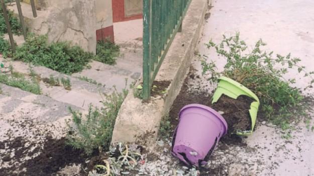 vandalismo piano san calogero, Agrigento, Cronaca