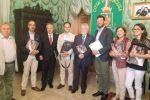 Il presidente della Camera di Commercio Agen con il sindaco Italia