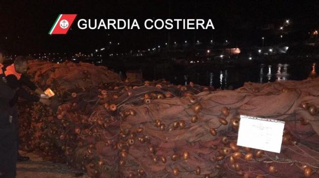 Reti spadare, sequestro reti spadare, Messina, Cronaca