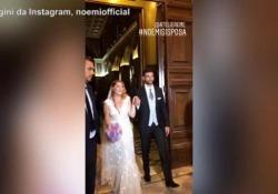 La cantante ha sposato il suo bassista Gabriele