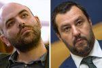 """Salvini querela Saviano su carta del Viminale: """"Mi ha offeso come ministro"""""""