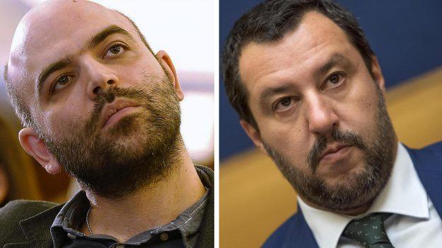 salvini querela saviano, Scontro Salvini Saviano, Matteo Salvini, Roberto Saviano, Sicilia, Politica