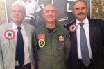 Nicola Virgilio, il generale Amedeo Magnani e Rosario Vitrano (Foto di Giuseppe Pantano)