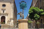 Lo scultore Sciavolino dona un'opera a Valledolmo: sarà installata sul corso principale