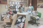Trovati e sequestrati mille prodotti contraffatti a Caltanissetta, una denuncia