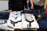 Vestiti contraffatti da Casablanca a Catania, denunciato un marocchino