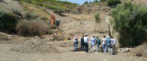 I resti di un teatro di epoca romana scoperti nell'area archeologica i Halaesa