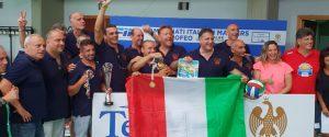Telimar-Città di Palermo campione d'Italia di pallanuoto master 50
