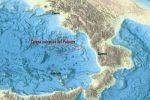 La mappa elaborata dall'Istituto Nazionale di Geologia e Vulcanologia (Ingv)