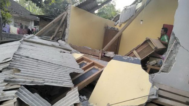 Terremoto Indonesia, terremoto lombok, Sicilia, Mondo