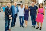 Da sinistra: Giuseppe Rizzuto, Marco Romano, Salvo La Rosa, Aurora Fiorenza, Giovanni Villino, Marina Turco