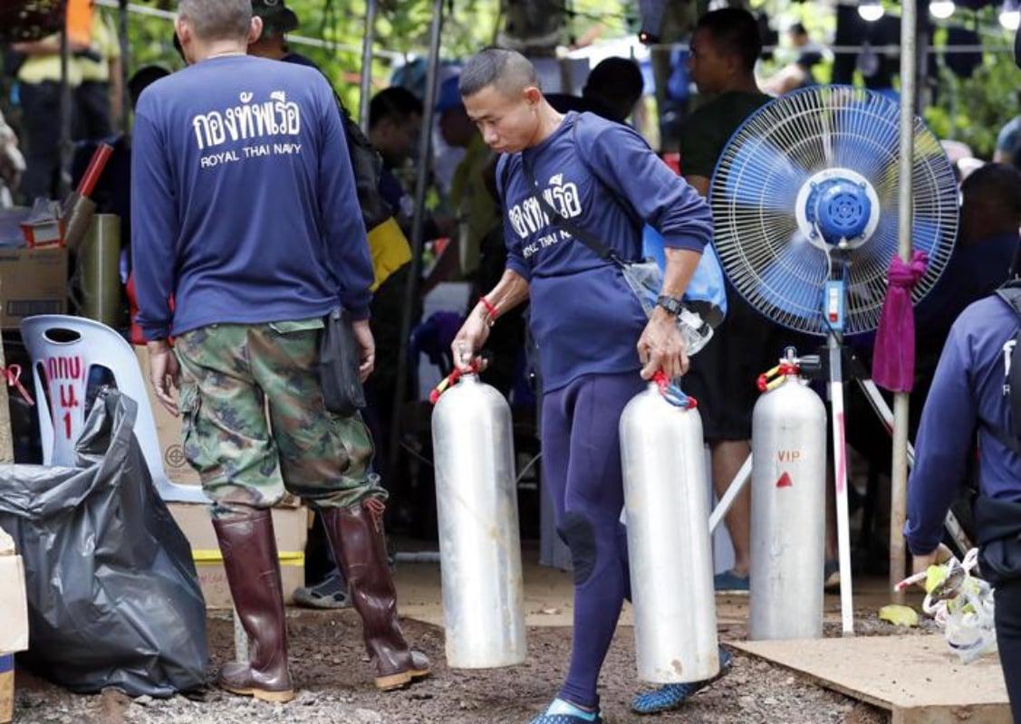 Thailandia:non c'e' ancora tubo ossigeno