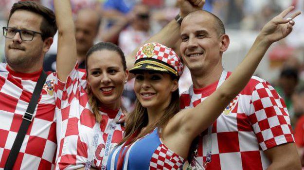 """Mondiali, i tifosi della Croazia: """"Sconfitti ma orgogliosi"""""""