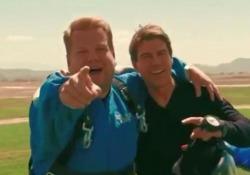 L'attore e il conduttore tv insieme per promuovere il nuovo «Mission Impossible»