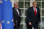 Donald Trump e Jean-Claude Juncker