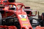 Formula uno, a Silverstone trionfo Ferrari: vince Vettel davanti ad Hamilton, terzo Raikkonen