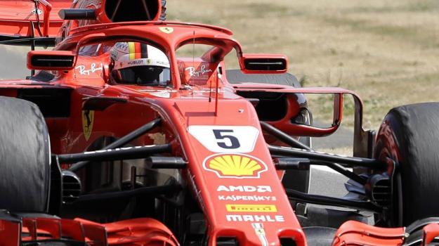 Formula uno Ferrari, Vettel Ferrari, Vittoria Vettel Ferrari, Sebastian Vettel, Sicilia, Sport