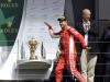 """Trionfo Ferrari a Silverstone, la gioia di Vettel: """"Vincere a casa loro è più bello"""""""