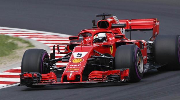 Ferrari Formula Uno, Sebastian Vettel, Sicilia, Sport