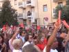Via D'Amelio, 16.58: il minuto di silenzio per ricordare Borsellino e la sua scorta