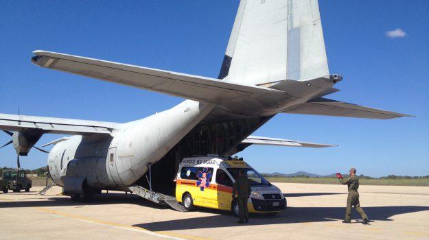 Volo aeronautica bimba 4 mesi Catania, Catania, Cronaca