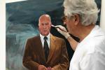 Giorgetto Giugiaro celebra 80 anni con dipinto per Garessio